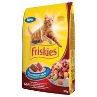 Friskies Cat mas.směs+kuře+zelenina 10 kg