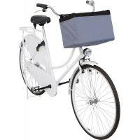 Front-Box transportní košík na řidítka, 38 x 25 x 25cm, šedá