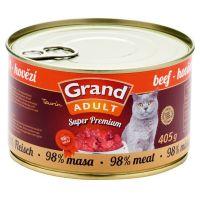 Grand Cat konz. - hovězí 405 g