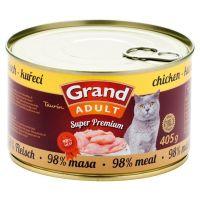 Grand Cat konz. - kuřecí 405 g