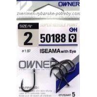 háček Owner 50188 s očkem velikost 4/7ks