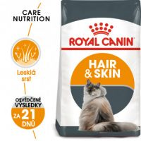 Royal Canin Hair and Skin Care granule pro kočky pro zdravou srst a kůži 0,4kg