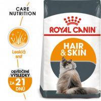 Royal Canin Hair and Skin Care granule pro kočky pro zdravou srst a kůži 2kg