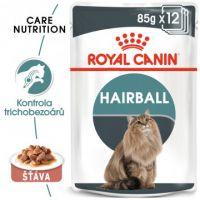 Royal Canin Hairball Care Gravy kapsička pro kočky ve šťávě pro správné vylučování smotků ve šťávě 12x