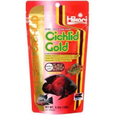 Hikari Cichlid Gold mini, medium, large 57g