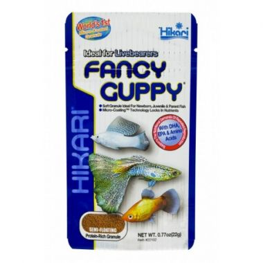 Hikari Tropical Fancy Guppy 22g