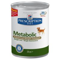Hill's Prescription Diet Canine Metabolic konzerva 370 g