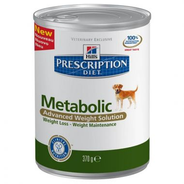 Hill's Prescription Diet Canine Metabolic konzerva 370 g