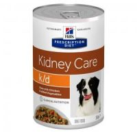 Hill's Prescription Diet Canine Stew k/d with Chicken & Veget. konzerva 354 g
