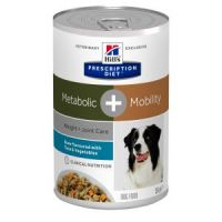 Hill's Prescription Diet Canine Stew Metabolic +Mobility Tuna&Veg. konz. 354 g