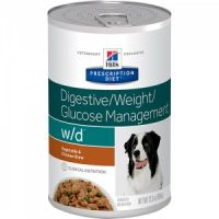 Hill's Prescription Diet Canine W/D konzerva 370 g