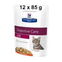 Hill's Prescription Diet Feline I/D kapsička Chicken 12 x 85 g