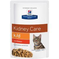 Hill's Prescription Diet Feline K/D kapsička Beef 12 x 85 g