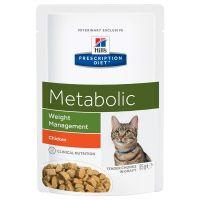 Hill's Prescription Diet Feline Metabolic kapsička 12 x 85 g