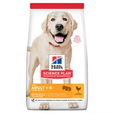 Hill's Science Plan Canine Adult Light Large Breed Chicken 2,5 kg