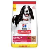 Hill's Science Plan Canine Adult Medium Lamb & Rice 2,5 kg