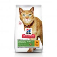 Hill's Science Plan Feline Adult 7+ Youthful Vitality Chicken 0,3 kg