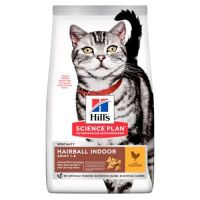 "Hill's Science Plan Feline Adult Hairball ""for Indoor cats"" Chicken 10 kg"