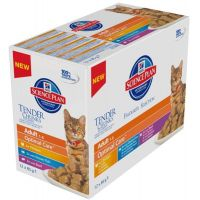 Hill's Science Plan Feline Adult kapsička Chicken+Turkey 12x85 g