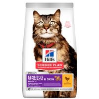 Hill's Science Plan Feline Adult Sensitive Stomach & Skin Chicken 1,5 kg
