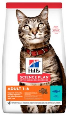 Hill's Science Plan Feline Adult Tuna 1,5 kg