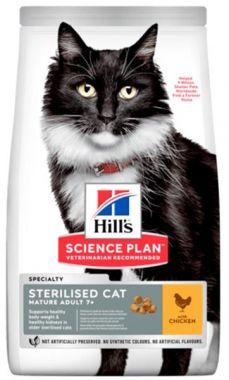 Hill's Science Plan Feline Mature Ad. 7+ Sterilised Chicken 3 kg