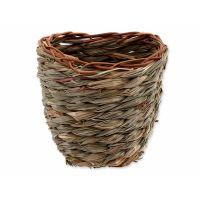 Hnízdo SMALL ANIMAL Košík travní pletené 15 x 10 x 15 cm (1ks)