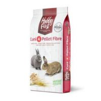 HobbyFirst králík 4 pelety + vláknina 20 kg