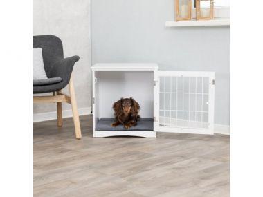 Home Kennel - bouda/pelíšek, S: 48x51x51cm, bílá