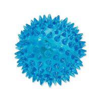 Hračka DOG FANTASY míček LED modrý 6 cm (1ks)