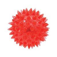 Hračka DOG FANTASY míček LED růžový 5 cm (1ks)