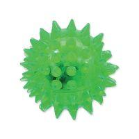 Hračka DOG FANTASY míček LED zelený 5 cm (1ks)