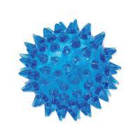 Hračka DOG FANTASY míček pískací modrý 5 cm (1ks)
