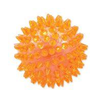 Hračka DOG FANTASY míček pískací oranžový 8 cm (1ks)