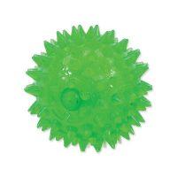 Hračka DOG FANTASY míček pískací zelený 8 cm (1ks)