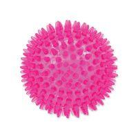 Hračka DOG FANTASY míček růžový 8 cm (1ks)