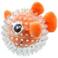 Hračka DOG FANTASY SEA TPR rybka v míčku 9 cm (1ks)