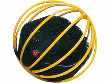Hračka míček kovový s myší