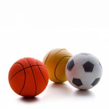 Hračka míček neonový větší