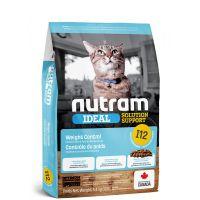 I12 Nutram Ideal Weight Control Cat - pro dospělé kočky – kontrola váhy 5,4kg