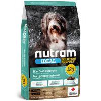 I20 Nutram Ideal Sensitive Skin Coat Stomach Dog - pro dospělé psy s citlivým zažíváním, problematickou kůží a srstí 2kg