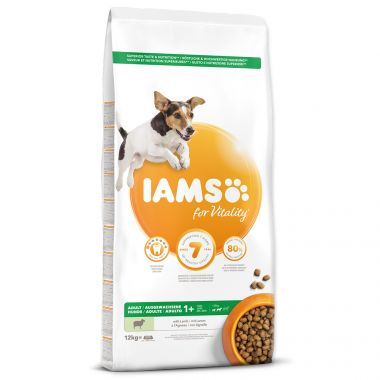 IAMS Dog Adult Small & Medium Lamb (12kg)