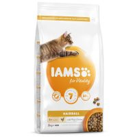 IAMS for Vitality Adult Cat Food Hairball Reduction with Fresh Chicken (2kg)
