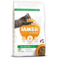 IAMS for Vitality Adult Cat Food with Lamb (10kg)