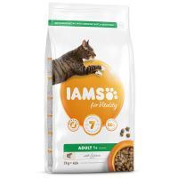 IAMS for Vitality Adult Cat Food with Salmon (2kg)
