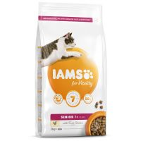 IAMS for Vitality Senior Cat Food with Fresh Chicken (2kg)