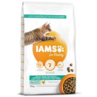IAMS for Vitality Weight Control Cat Food with Fresh Chicken (10kg)