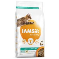 IAMS for Vitality Weight Control Cat Food with Fresh Chicken (2kg)