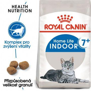 Royal Canin Indoor 7+ granule pro stárnoucí kočky žijící uvnitř