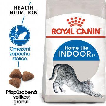 Royal Canin Indoor granule pro kočky žijící uvnitř 0,4kg
